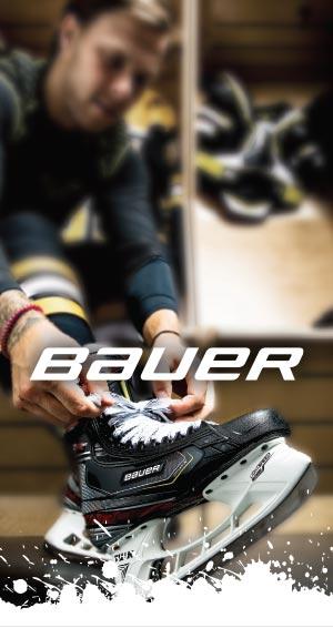 Hockey Basesta löydät loistava Bauer tuotevalikoiman jääkiekkoilijalle