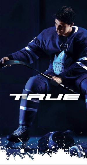 Hockey Basesta löydät loistava True tuotevalikoiman jääkiekkoilijalle