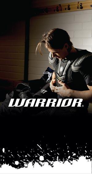 Hockey Basesta löydät loistava Warrior  tuotevalikoiman jääkiekkoilijalle