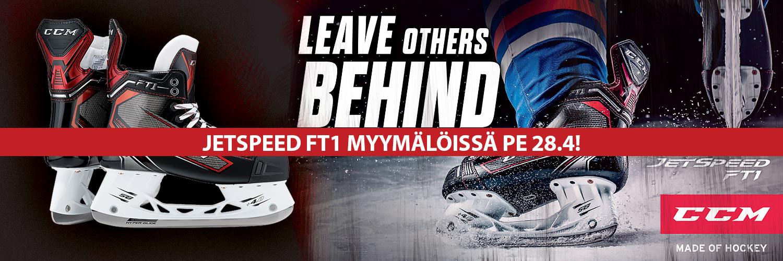CCM JetSpeed FT1 luistimet saatavilla Hockey Base myymälöistä 28.4. alkaen!