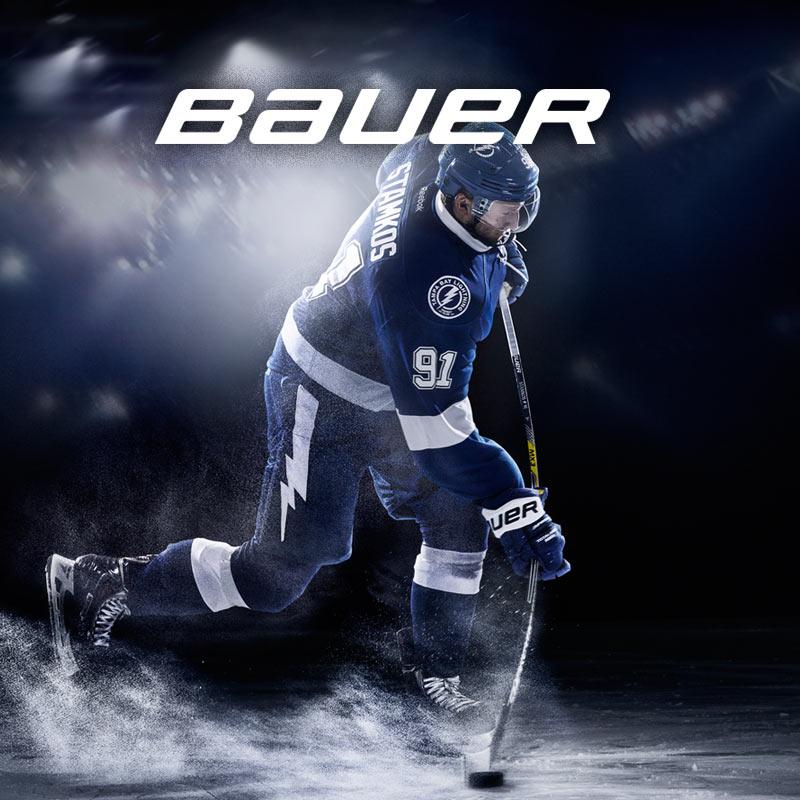 Bauer jääkiekkovarusteet kattavasti kaikista Hockey Base -myymälöistä ja verkkokaupasta