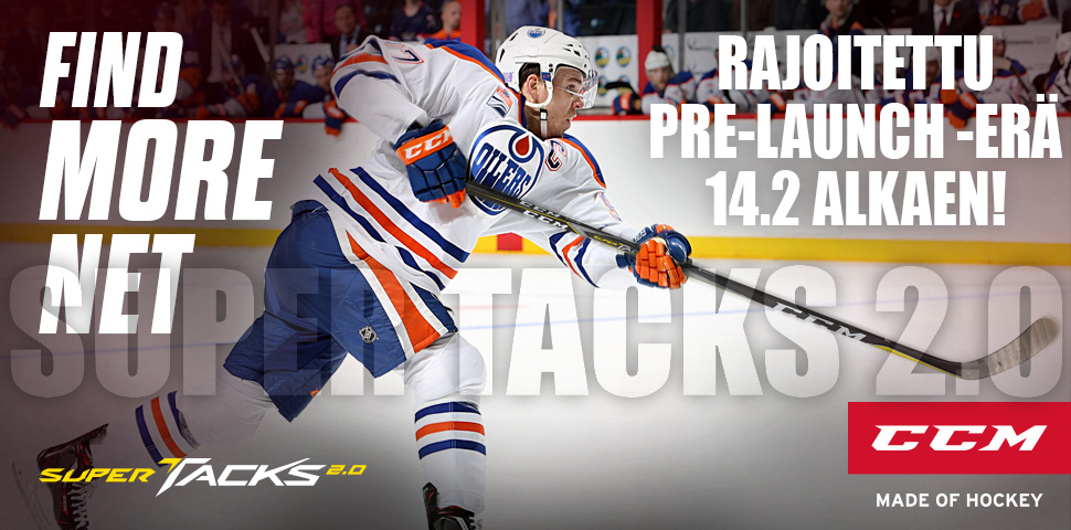 CCM Super Tacks 2.0 Pre-launch erä 14.2. alkaen Hockey Basesta!