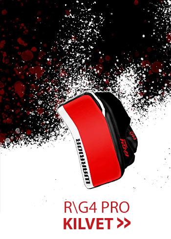 Warrior Ritual G4 pro  maalivahdin kilpiä erikoisväreissä nyt suoraan Hockey Base myymälöistä! Katso valikoima nettikaupasta ja nappaa väriä maalinsuulle!
