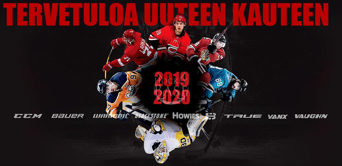 Jääkiekkokausi 2019-20 on vihdoin täällä! Hockey Base palvelee 13. myymälän voimin läpi koko maan. Tervetuloa maan suurimpaan vain jääkiekkoon erikoistuneeseen myymäläketjuun!