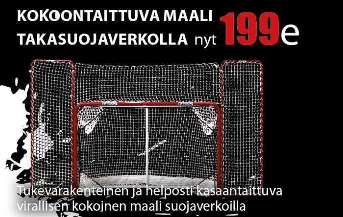 Virallisen kokoinen harjoitusmaali Hockey Basesta nyt vain 199e