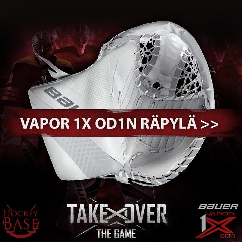 Bauer Vapor 1X OD1N maalivahdin räpylä Hockey Basesta