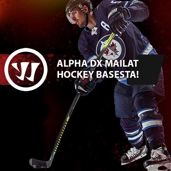 Odotettu Warriorin uutuus Alpha DX mailasarja Hockey Basesta!