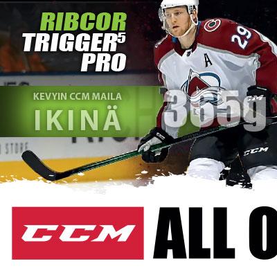 CCM Ribcor Trigger 5 Pro Hockey Basesta