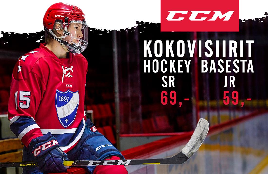 CCm huippulaadukkaat kokovisiirit kaikista Hockey Base myymälöistä ja verkkokaupasta!